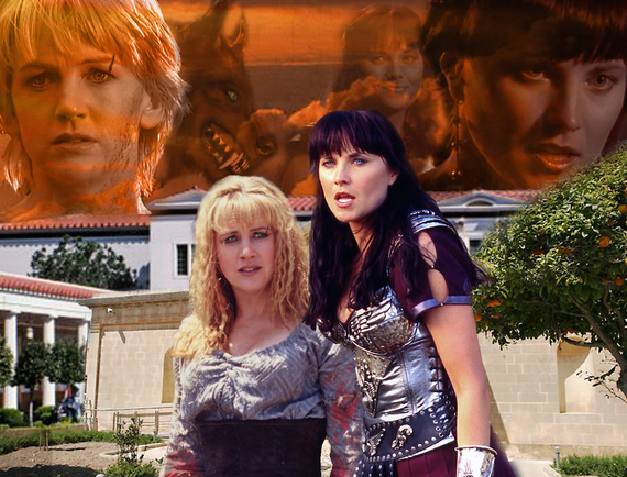 Nice message xena and gabrielle crucified naked